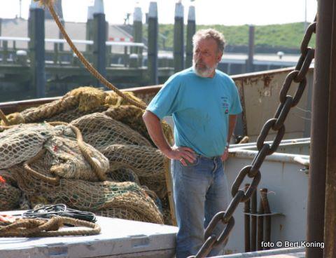 Als één van de nestors van de Texelse vissersvloot is Steef de Wit nog wekelijks te vinden op de 'Avontuur' van de firma Boersen uit Oudeschild