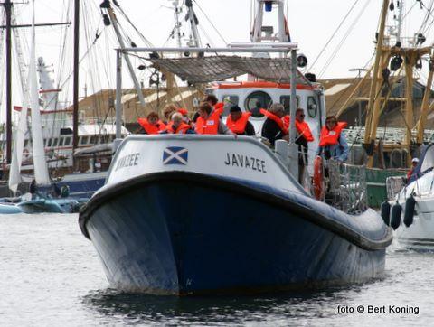 Totaal kozen 330 donateurs het ruime sop met de drie KNRM-boten. Oudeschild kreeg totaal zo'n 450 belangstellenden
