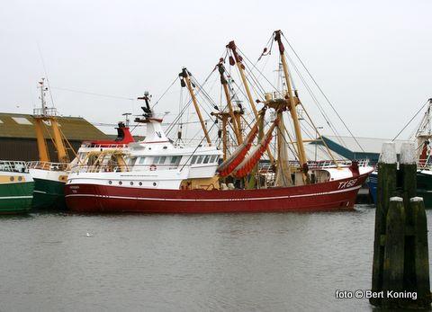 De 'Vertrouwen'van de firma van der Vis en Daalder doet zijn naam eer aan na de eerste visweek. 'De hoogste besomming van de Texelse vloot, de beste visprijzen en het minste gasolieverbruik' aldus de laatste Visserijnieuws.