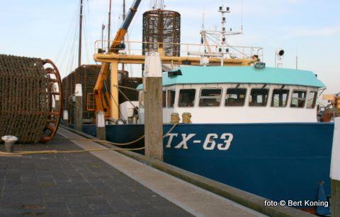 Door de 'Verwachting' van Lenger Seafoods BV werden onlangs in het Malzwin weer voor het eerst de korven geplaatst voor het vangstseizoen 2009.