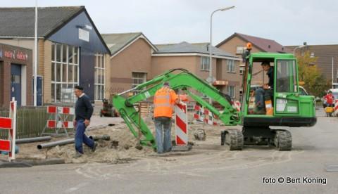 Eind september is de firma Ooms gestart met de reconstructie van de Heemskerckstraat. Momenteel wordt gewerkt aan het gedeelte vanaf de Loodsingel tot aan de Mielandweg cq de 'Puzzelweg'.