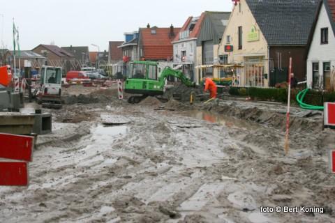 Het betreft dit gedeelte tussen de loodssingel en de Barendszstraat. Afhankelijk 'waar je heendrijft of roeid' na zoveel regenval op vrijdag de 13e.