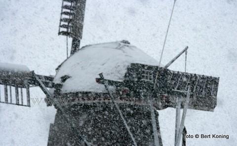 Zowel de zaterdag als de zondag wordt slecht en koud weer verwacht met veel stuifsneeuw en aanvriesend buiswater.