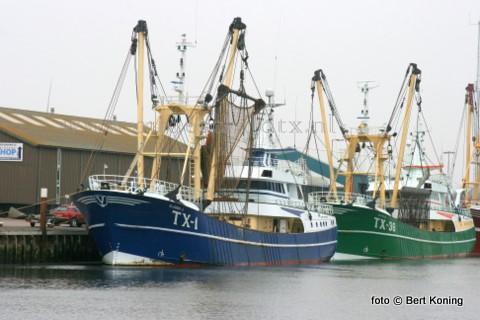 Afgelopen week maakte de TX 1 van de firma Vonk uit Oudeschild ook de laatste reis met de tradtionele boomkor. Oud-opvarenden Cor Vonk(l) en Kees Daalder keken nog even rond naar het vertrouwde bokkentuig, waar zij vele jaren mee gewerkt hebben. Vrijdagmorgen schakelde de 'Klazina-J' als 9e plaatselijke kotter over op de Sumwing. Met de recente bestellingen komt het totaal aantal Sumwingsets  in Nederland en België nu op vijftig.