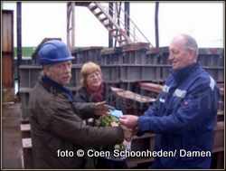 damen 40 jaar Dokbaas Aad de Porto 40 jaar bij Damen Shipyards op Texel | Op  damen 40 jaar