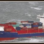 De-OOCL-Rauma-het-schip-waar-de-containers-vanaf-zijn-gevallen-Foto-Kustwacht-Nederland